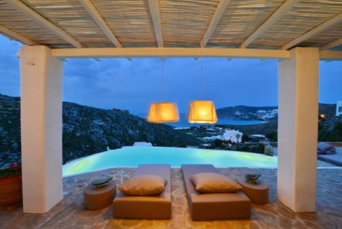 Villa in Mykonos with excellent sea view, Agrari, Mykonos villas, Mykonos luxury villas 16