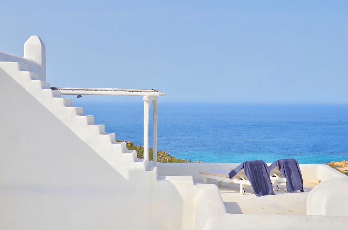 Mykonos Villas, Villa in Mykonos with excellent sea view, Agrari