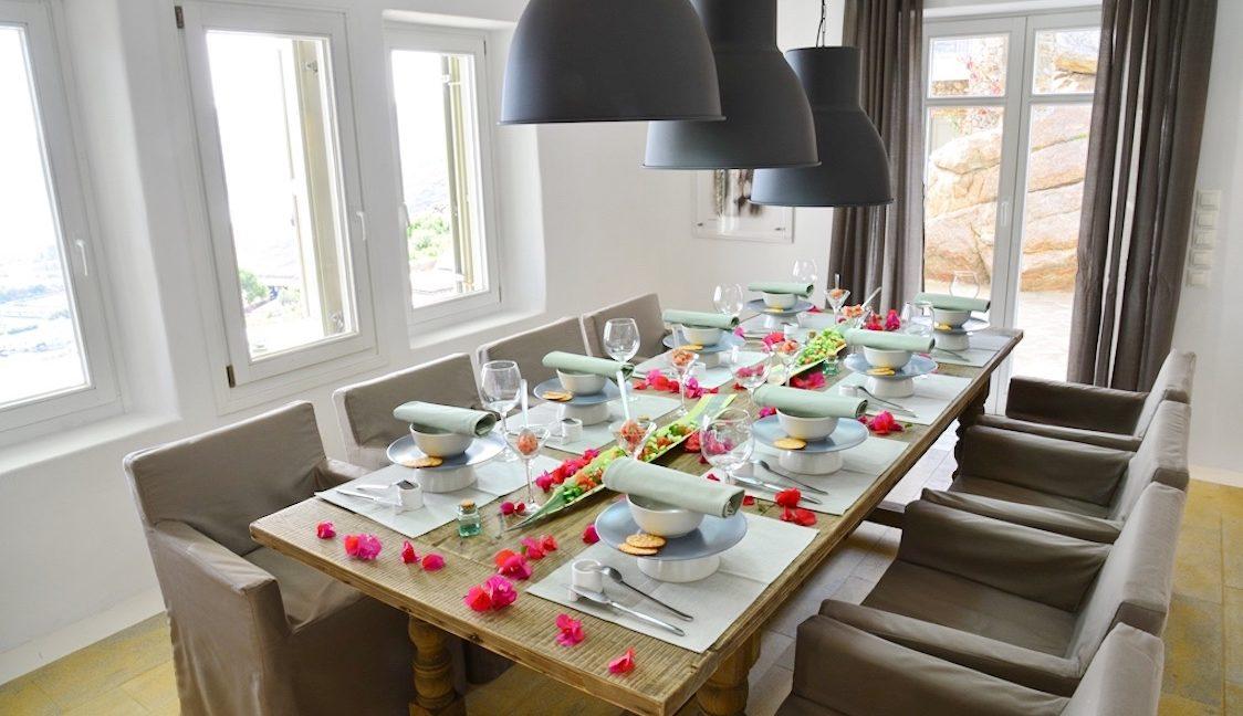 Villa in Mykonos with excellent sea view, Agrari, Mykonos villas, Mykonos luxury villas 2