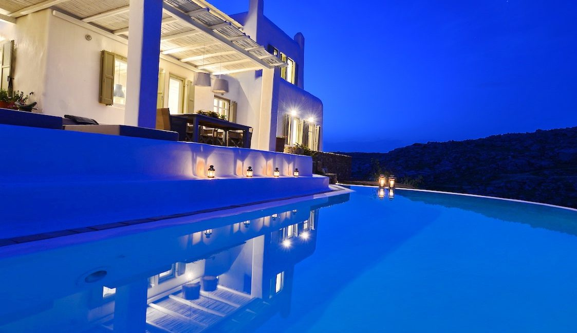 Villa in Mykonos with excellent sea view, Agrari, Mykonos villas, Mykonos luxury villas 4