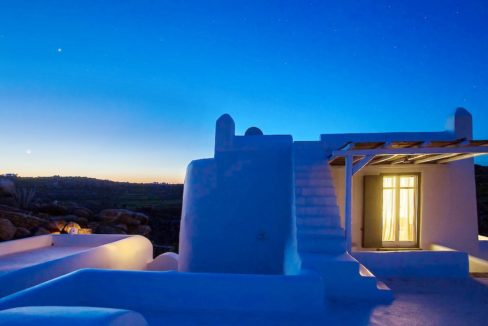 Villa in Mykonos with excellent sea view, Agrari, Mykonos villas, Mykonos luxury villas 7