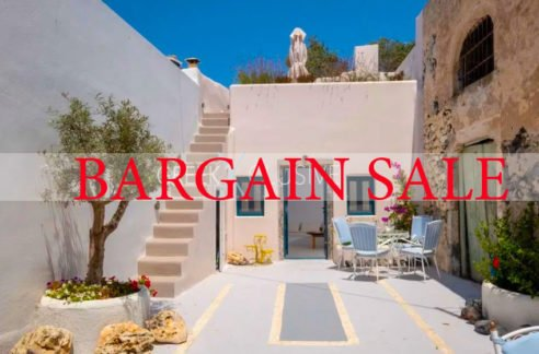 Cave House Santorini for Sale, Santorini Properties