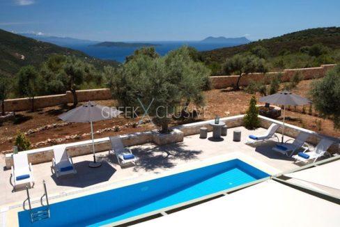 Property in Lefkada for sale, Villa with Sea View in Lefkada Greece 1