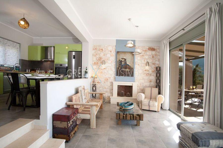 Property in Lefkada for sale, Villa with Sea View in Lefkada Greece 14