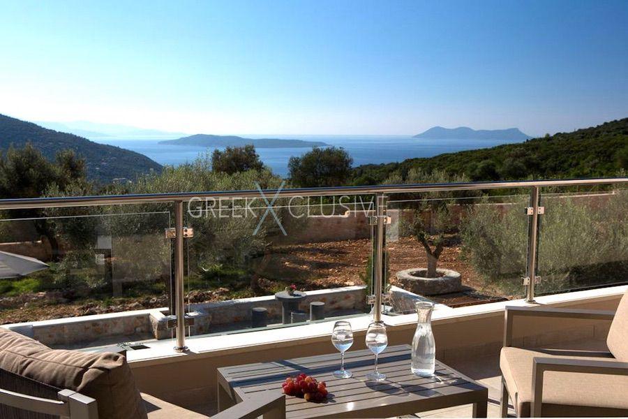 Property in Lefkada for sale, Villa with Sea View in Lefkada Greece 27