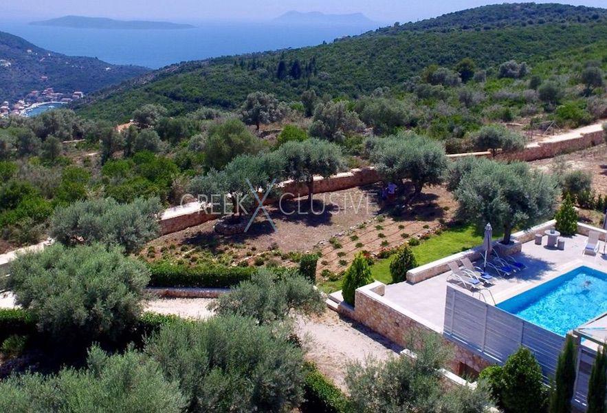 Property in Lefkada for sale, Villa with Sea View in Lefkada Greece 29