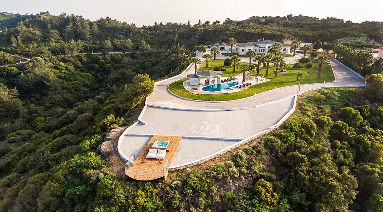 Amazing Top Hill Super Luxury Villa in Rhodes Greece 17