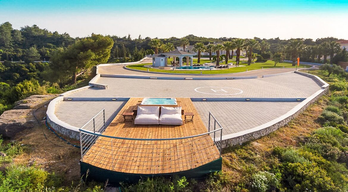 Amazing Top Hill Super Luxury Villa in Rhodes Greece 2