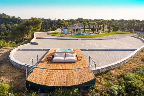 Amazing Top Hill Super Luxury Villa in Rhodes Greece 2