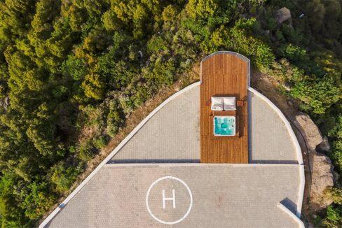 Amazing Top Hill Super Luxury Villa in Rhodes Greece 24
