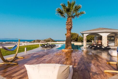 Amazing Top Hill Super Luxury Villa in Rhodes Greece 35