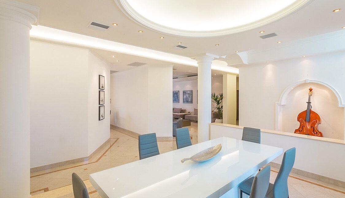 Amazing Top Hill Super Luxury Villa in Rhodes Greece 44