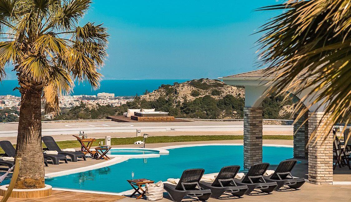 Amazing Top Hill Super Luxury Villa in Rhodes Greece 46