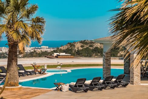 Amazing Top Hill Super Luxury Villa in Rhodes Greece 46