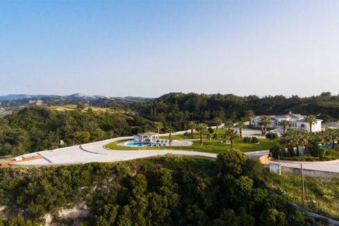 Amazing Top Hill Super Luxury Villa in Rhodes Greece for sale 3