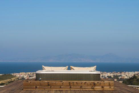 Amazing Top Hill Super Luxury Villa in Rhodes Greece for sale 33