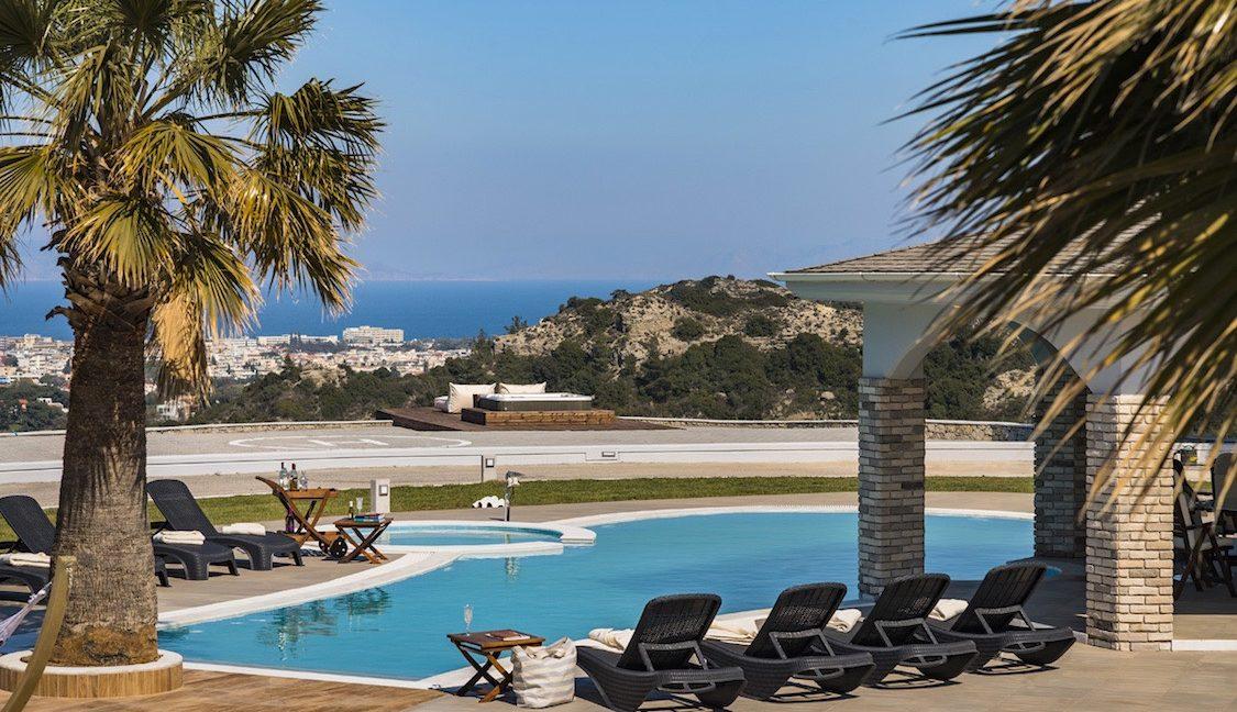 Amazing Top Hill Super Luxury Villa in Rhodes Greece for sale 8