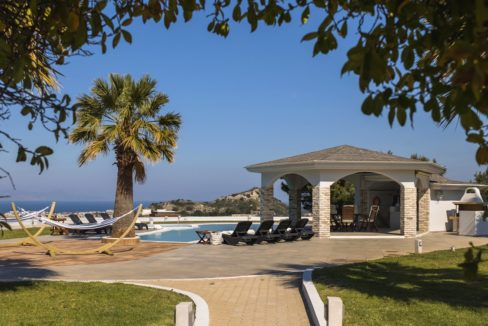 Amazing Top Hill Super Luxury Villa in Rhodes Greece for sale 9