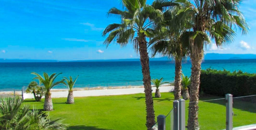 Beachfront Luxury Estate in Chalkidiki, Luxury Villa in Chanioti