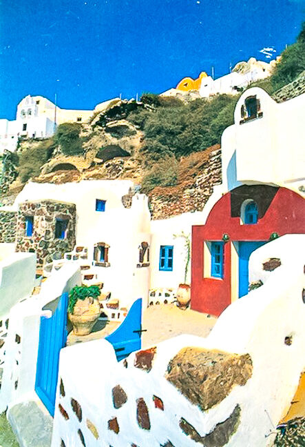 Cave House in Oia Santorini. Cave House at Caldera 8