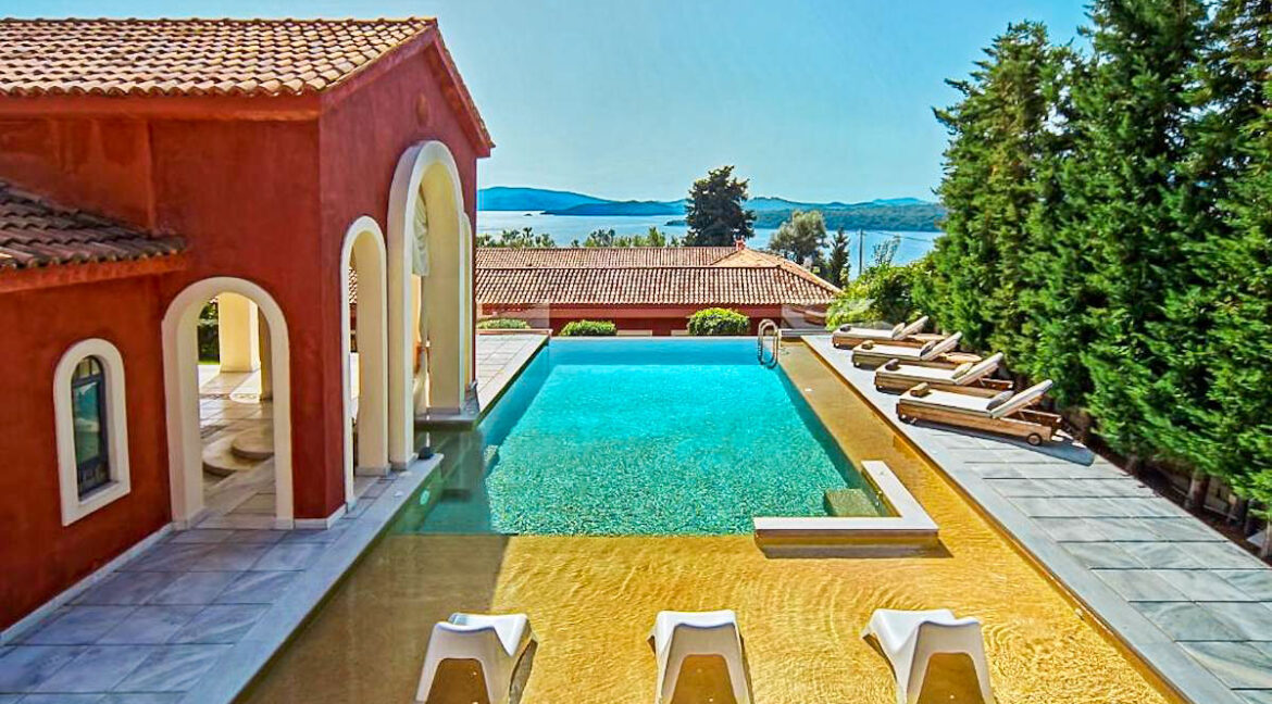 Estate at Lefkada, Perigiali beach. Luxury Villas in Greece for Sale