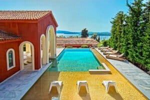 Estate at Lefkada, Perigiali beach. Luxury Villas in Greece for Sale