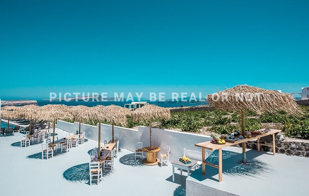 Hotel at Akrotiri Santorini for sale 3