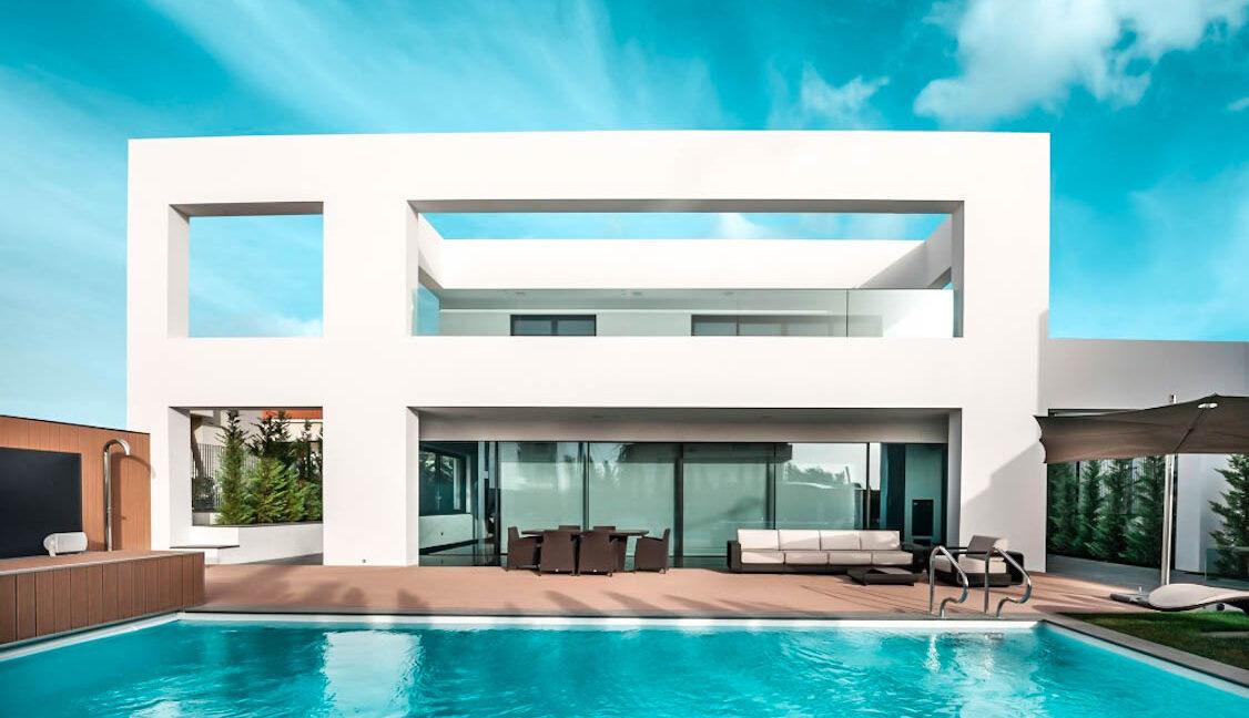 Luxury Estate by the sea Glyfada Athens, High End Villa Athens Riviera