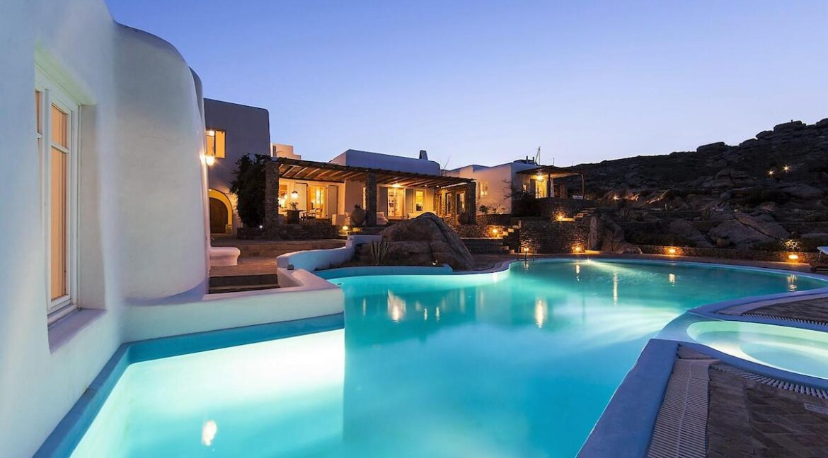 Luxury Sea View Villa , Agrari Mykonos, Mykonos Properties, Luxury Estates Mykonos Greece, Buy Property in Mykonos
