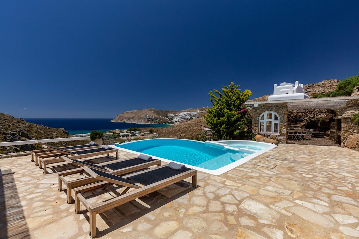Fabulous Mansion in Mykonos Beach, Elia Mykonos
