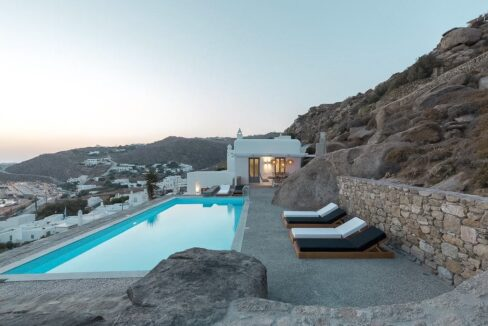 Modern Villa with amazing sea View in Mykonos 40