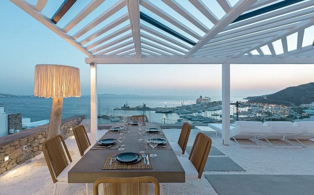 Modern Villa with amazing sea View in Mykonos 41
