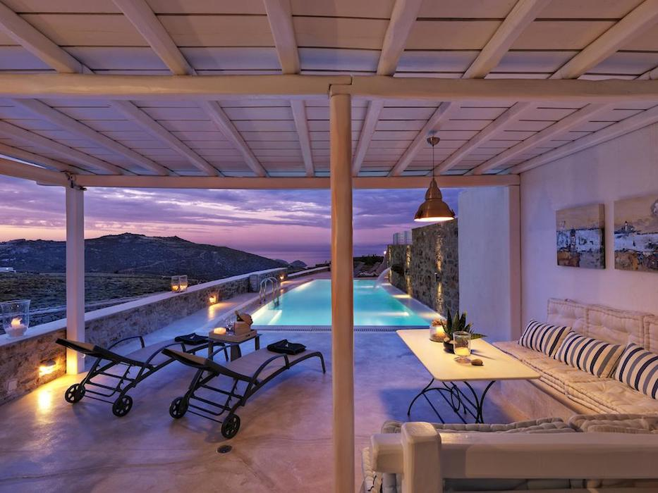 Villa in Mykonos with 4 Bedrooms and Pool