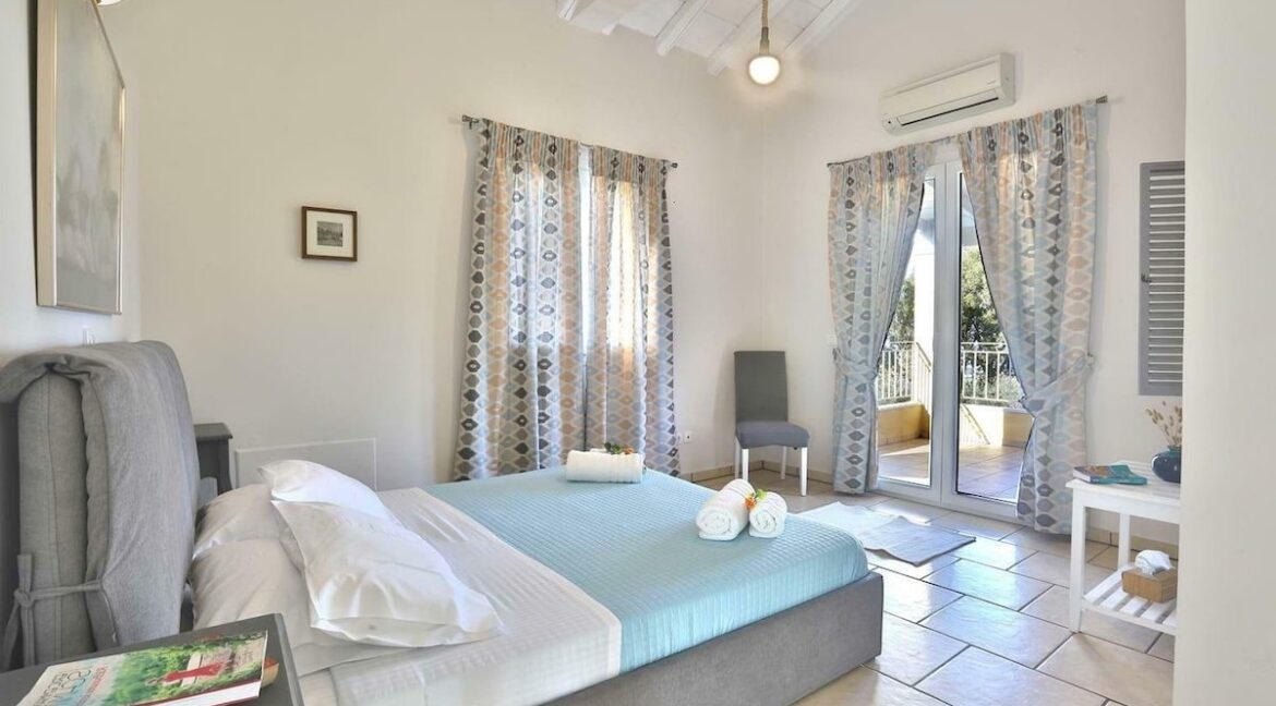 On the beach! Villa with direct sea access at Corfu, Kassiopi. Seafront Property Corfu Island Greece for Sale 3