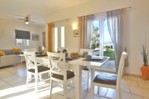 On the beach! Villa with direct sea access at Corfu, Kassiopi. Seafront Property Corfu Island Greece for Sale 6