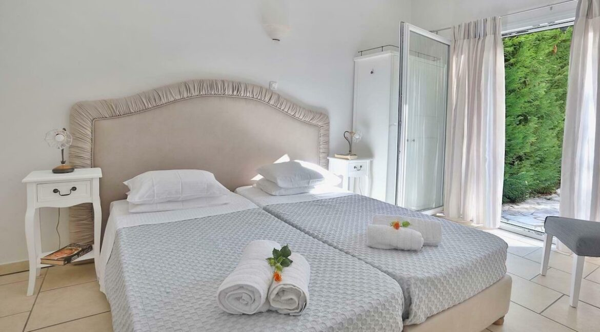 On the beach! Villa with direct sea access at Corfu, Kassiopi. Seafront Property Corfu Island Greece for Sale 7