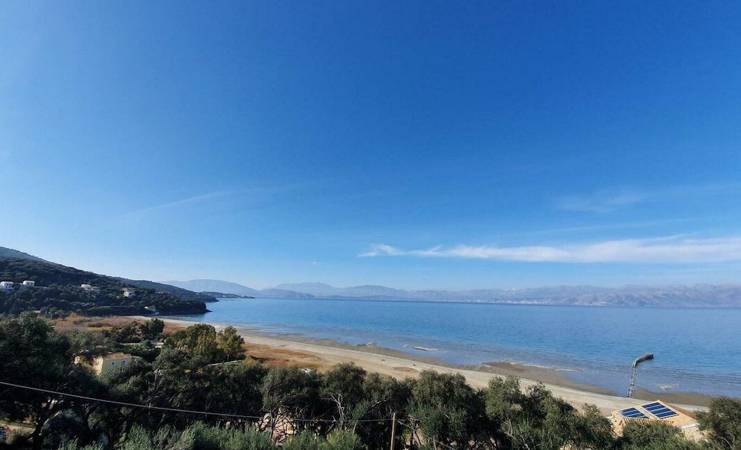 On the beach! Villa with direct sea access at Corfu, Kassiopi. Seafront Property Corfu Island Greece for Sale 8
