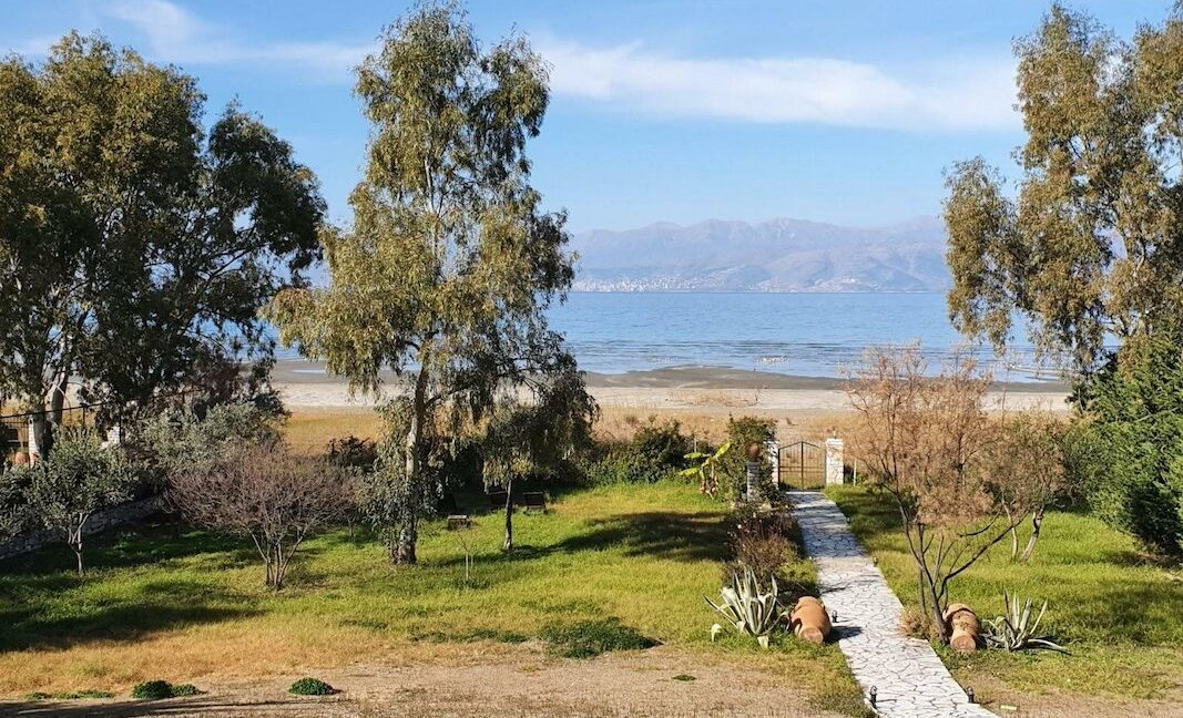 On the beach! Villa with direct sea access at Corfu, Kassiopi. Seafront Property Corfu Island Greece for Sale 9