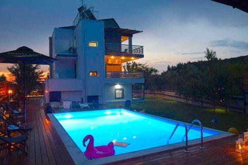 Property in Sithonia Halkidiki, Villa for sale in Toroni Sithonia