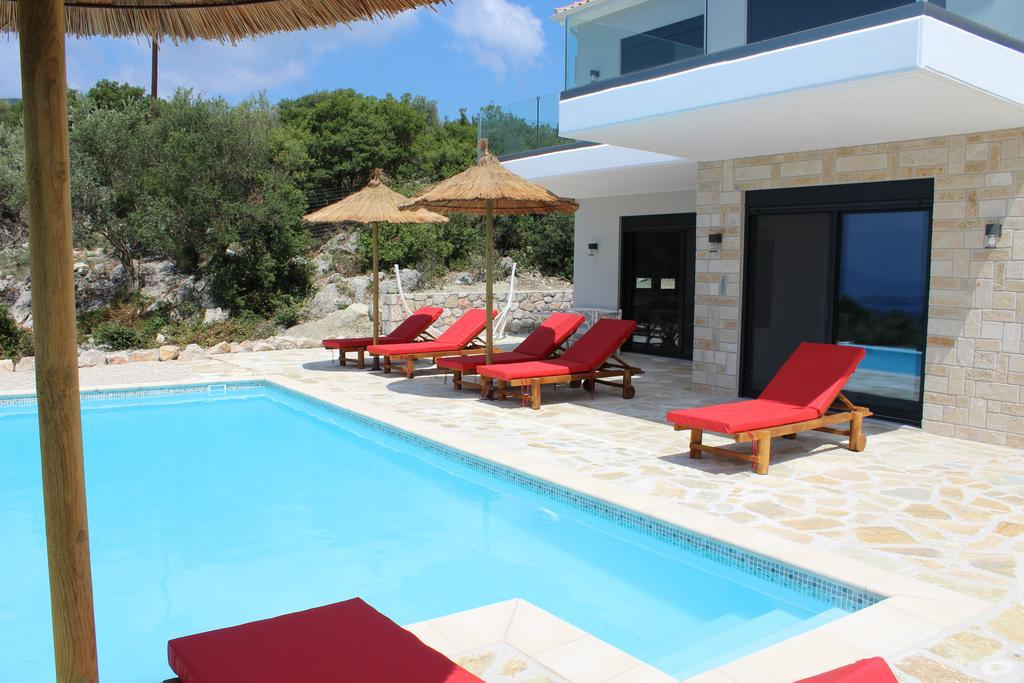 Real Estate Lefkada, Villa in Lefkada with panoramic sea view