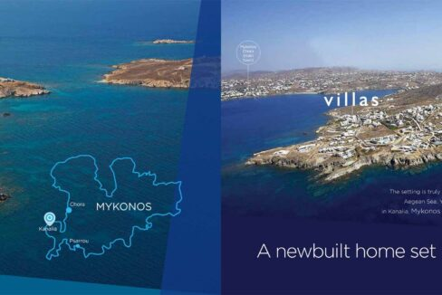 Sea View Villa Kanalia Mykonos