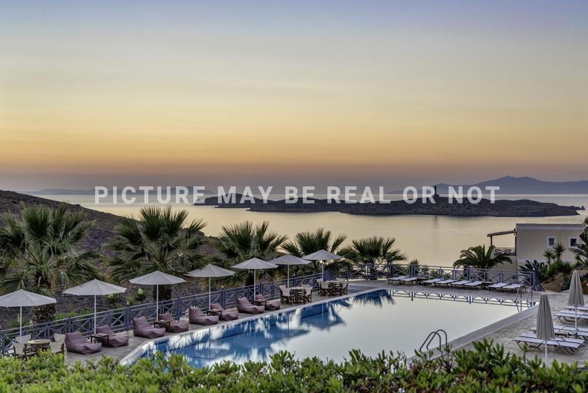 Seafront Hotel for Sale Greek Island Syros with 56 beds