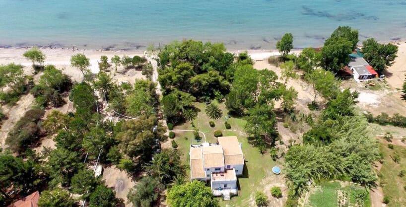 Seafront Villa in Corfu for Sale, Corfu Homes for sale, Real Estate Corfu Greece