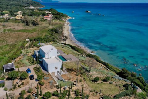 Super Waterfront Villa in Corfu Island, Corfu Homes, Property Corfu Greece