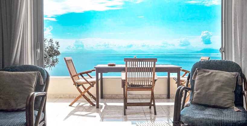 Villa For Sale Corfu Greece. Seafront Corfu Property for Sale. Corfu Homes