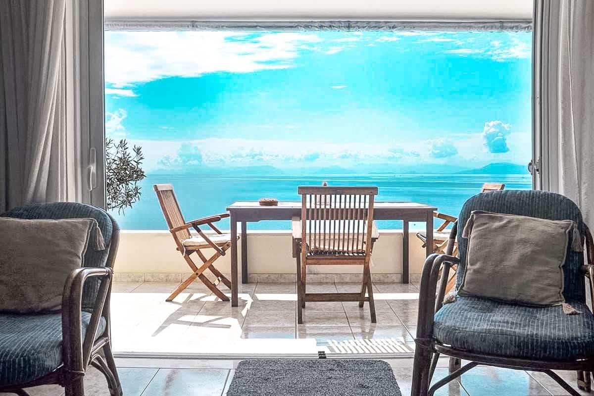 Seafront Villa For Sale Corfu Greece