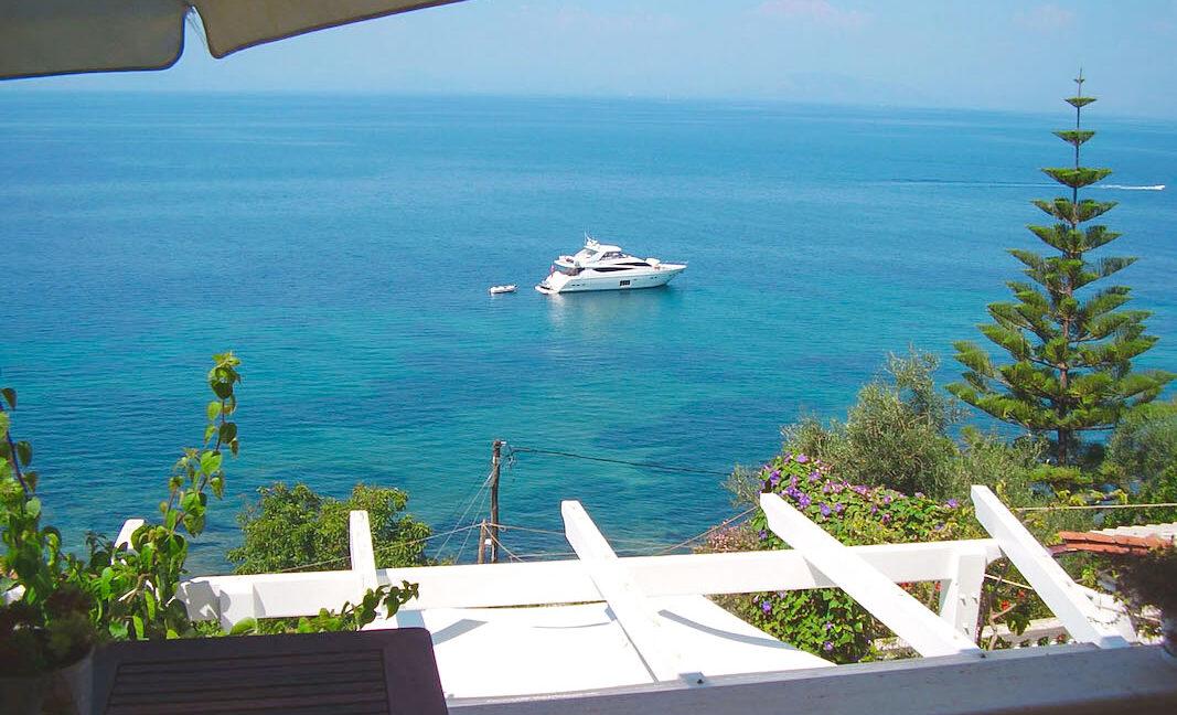 Villa For Sale Corfu Greece. Seafront Corfu Property for Sale. Corfu Homes. House with Sea View in Corfu Greece 19