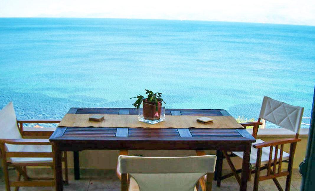 Villa For Sale Corfu Greece. Seafront Corfu Property for Sale. Corfu Homes. House with Sea View in Corfu Greece 2