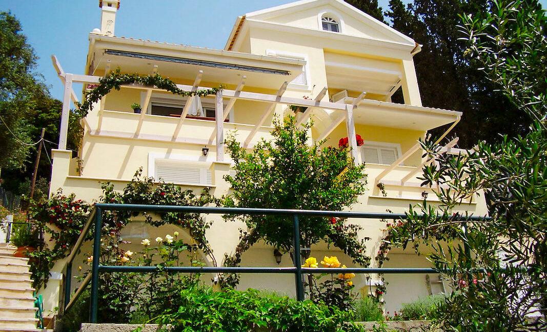 Villa For Sale Corfu Greece. Seafront Corfu Property for Sale. Corfu Homes. House with Sea View in Corfu Greece 23