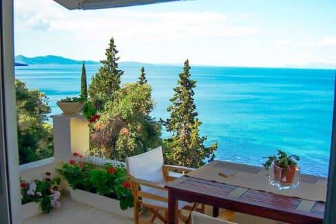 Villa For Sale Corfu Greece. Seafront Corfu Property for Sale. Corfu Homes. House with Sea View in Corfu Greece 3